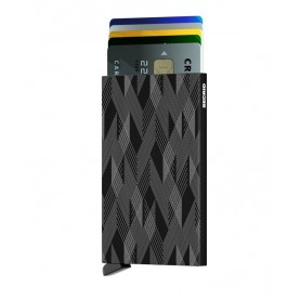 Secrid Cardprotector Laser zigzag black