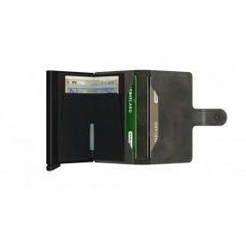 Secrid Miniwallet vintage olive/black