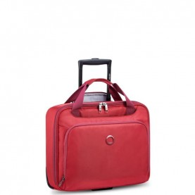 Delsey 3942409 Esplanade red cabin trolley