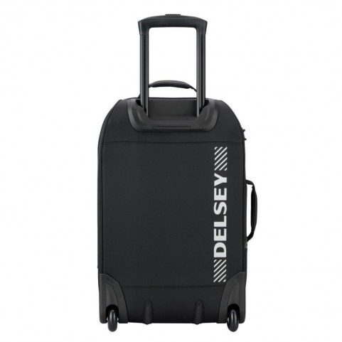 Delsey 2450720 Tramontane black cabin trolley and backpack