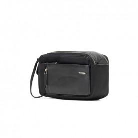 Ciak Roncato 200413 Squadra black leather beauty case