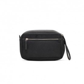 Ciak Roncato 200413 Squadra black leather beauty case