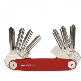 Wunderkey key organizer red